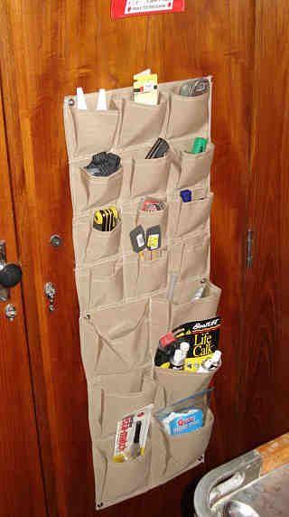 pockets, pockets, everywhere - Sunbrella storage pockets