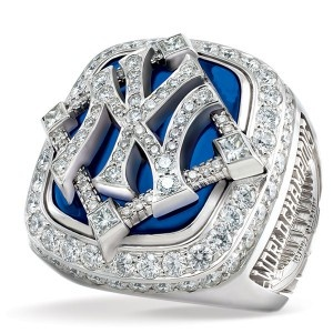 2009 New York Yankees World Series Ring. Number 27.