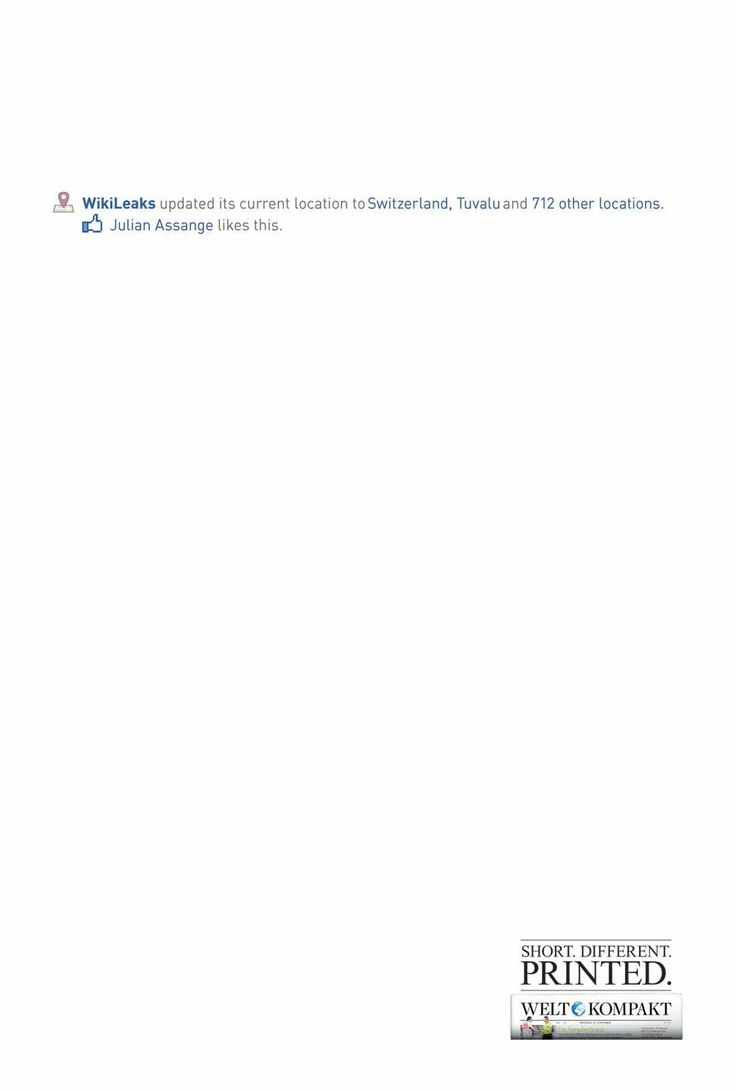 Welt Kompakt: Server Relocation