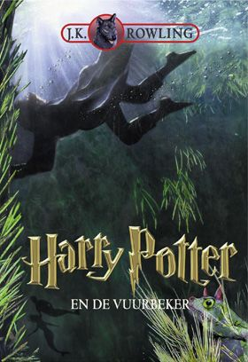 Harry Potter and the Goblet of Fire - Dutch book cover
