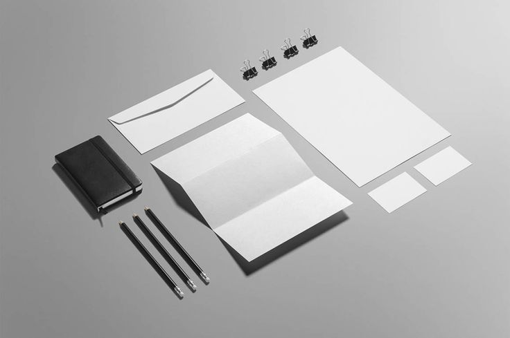 Free Stationery Mock-up Free business stationery Photoshop mock-up template from MockupCloud.…