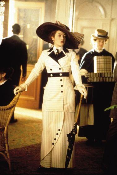 Titanic (1997) Kate Winslet as Rose DeWitt Bukater #costume design: Deborah Lynn Scott