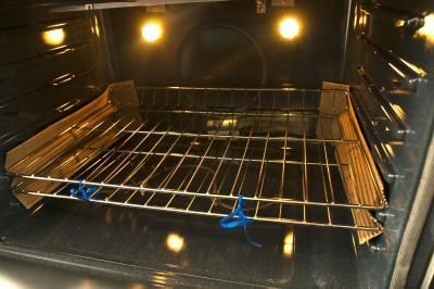 You can clean your oven racks without using smelly, toxic rust removers.