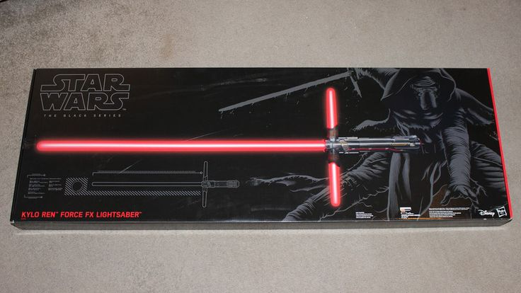 Star Wars The Black Series Kylo Ren Force FX Deluxe Lightsaber BRAND NEW #StarWars