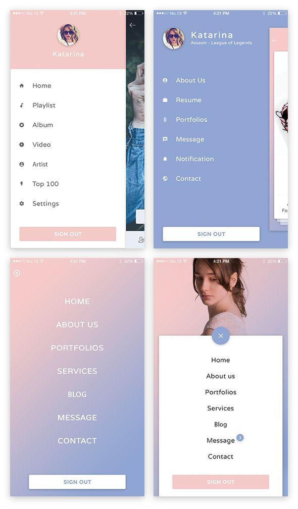 Mal ui menu preview01