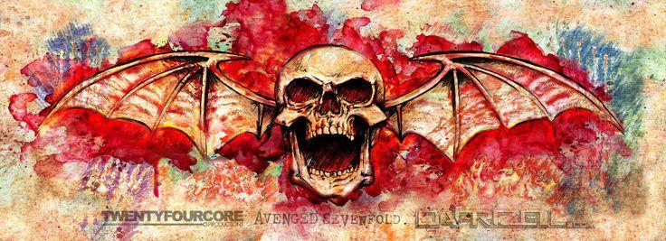 Avenged-Sevenfold-LBC-DeathBat I really want this tattooed across my back