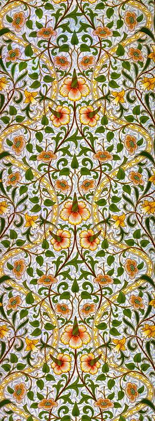 william morris -- orderly yet whimsical. If my eyes could salivate...