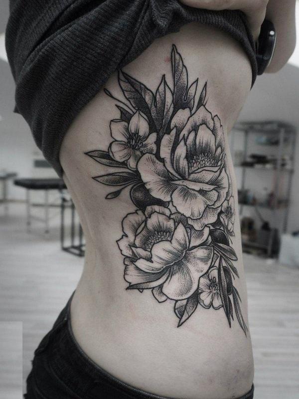 100 Peony Tattoo Designs For Men: 40 Wonderful Peony Tattoos You Will Adore
