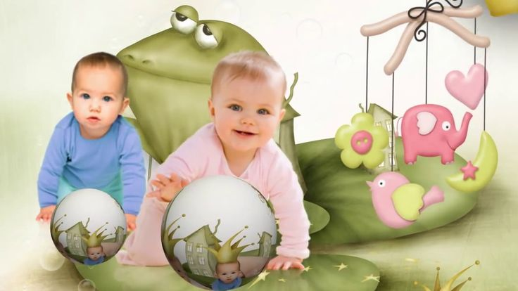 Proshow Producer Style Babies  (✿◠‿◠) frog (✿◠‿◠)Editable project #proshowproducer just needs replacing with your photos. Un video personalizado ideal como regalo para un cumpleaños infantil o…