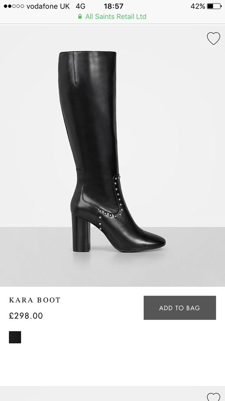 AllSaints boot