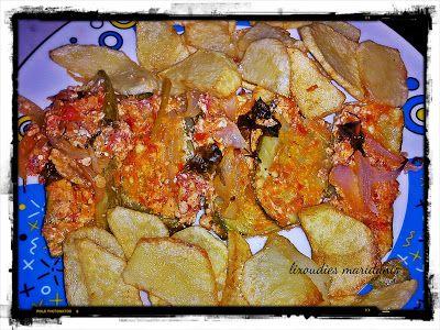 Οι λιχουδιές της Μαριφάνης: Κολοκυθάκια με σάλτσα φέτας στο φούρνο
