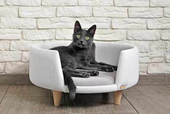 Nook is a modern, hand-made cat and small dog furniture. Ideal for rest and fun. Created for love of animals and beautiful interiors. The furniture is upholstered with a clean, abrasion-resistant and breathable fabric that meets the standards of health and the environment (according to