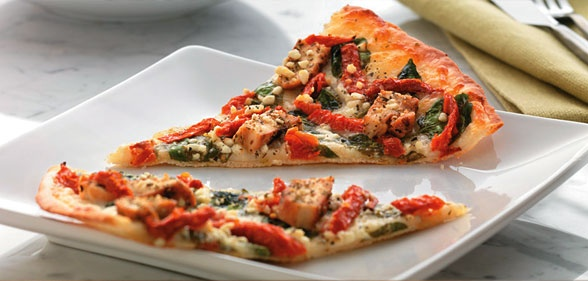 Papa Murphy's is a fast food chain that specializes in take-and-bake pizzas. The way it works is you would place an order just as with any other pizza joint, but instead of getting a baked pizza, you would take it home and bake it at your convenience.