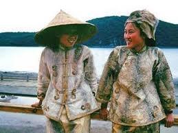 Amur Region - Bridal dress, fish skin garment