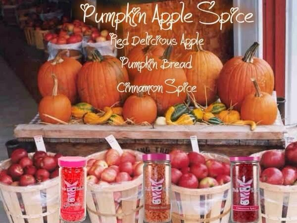 Recipe for Pink Zebra Sprinkles to make your own Pumpkin Apple Spice! www.pinkzebrahome.com/LoriWright