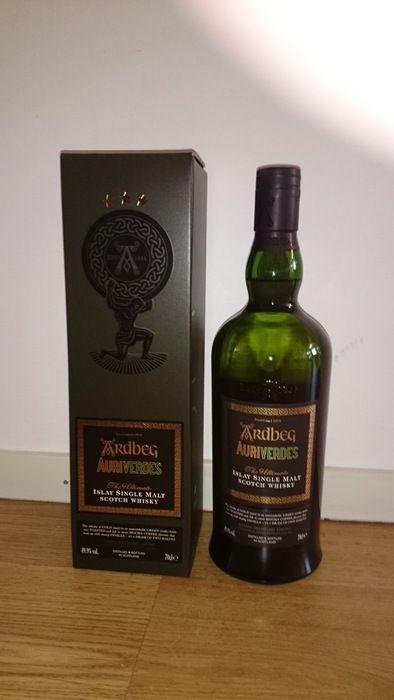 Currently at the Catawiki auctions: Ardbeg - Auriverdes Single Malt Whisky