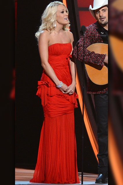 Carrie Underwood's CMA Wardrobe Changes