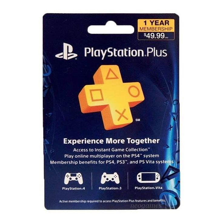 Sony PlayStation Plus 1 Year Membership Subscription Card - New! - TechFinderr  20% OFF from $49.99 to $39.99 now. Membership benefits for PS4, PS3 and PS Vita systems. See more details in TechFinderr.com http://ow.ly/4nrorH #tech #deals #dailydeals #techdeals #playstation #ps4 #ps3 #psvita