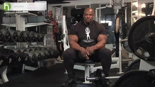 Body building tips: How to build muscle with Ronnie Coleman - Video Dailymotion