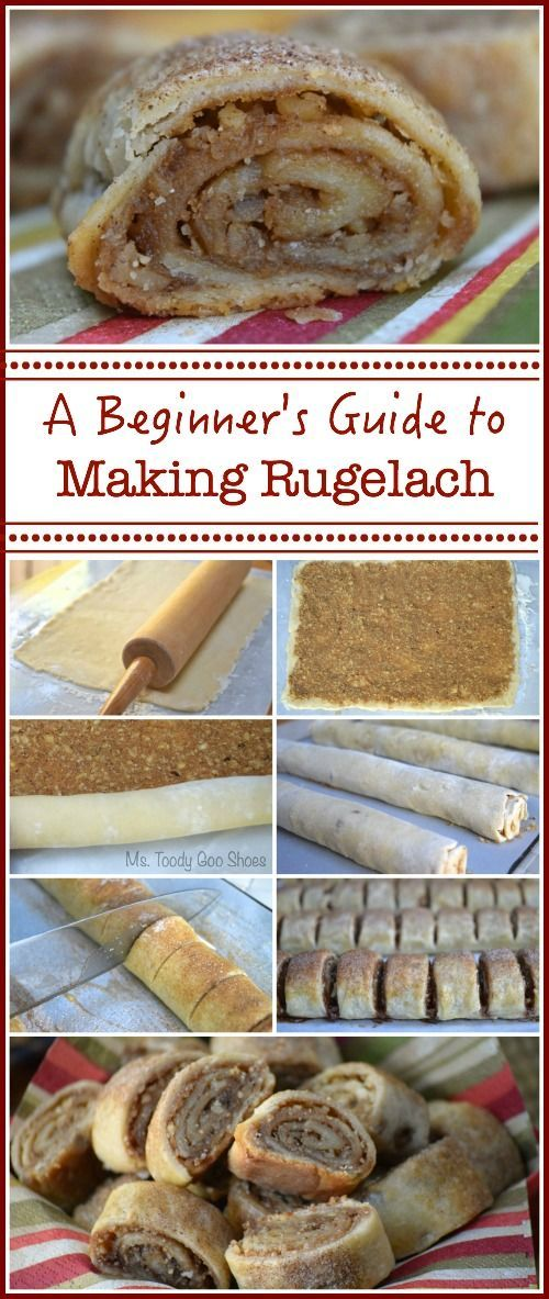 Brown Sugar and Walnut Rugelach: You won't believe how easy these are to make!   Ms. Toody Goo Shoes