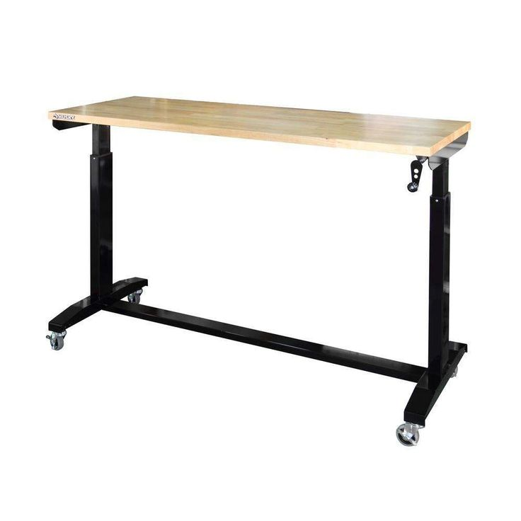 Husky adjustable height work table / workbench / standing desk $199 #LavaHot http://www.lavahotdeals.com/us/cheap/husky-adjustable-height-work-table-workbench-standing-desk/155855?utm_source=pinterest&utm_medium=rss&utm_campaign=at_lavahotdealsus