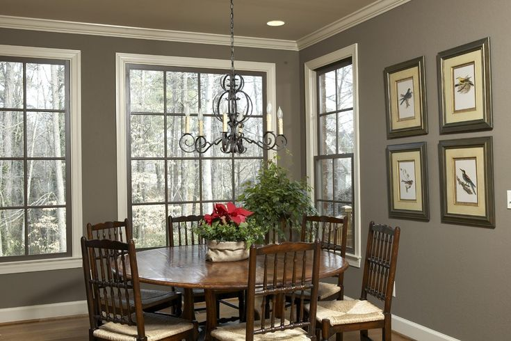 Farmhouse Interior Paint Colors Dining Room Traditional Remodeling Ideas With Round Table Cei