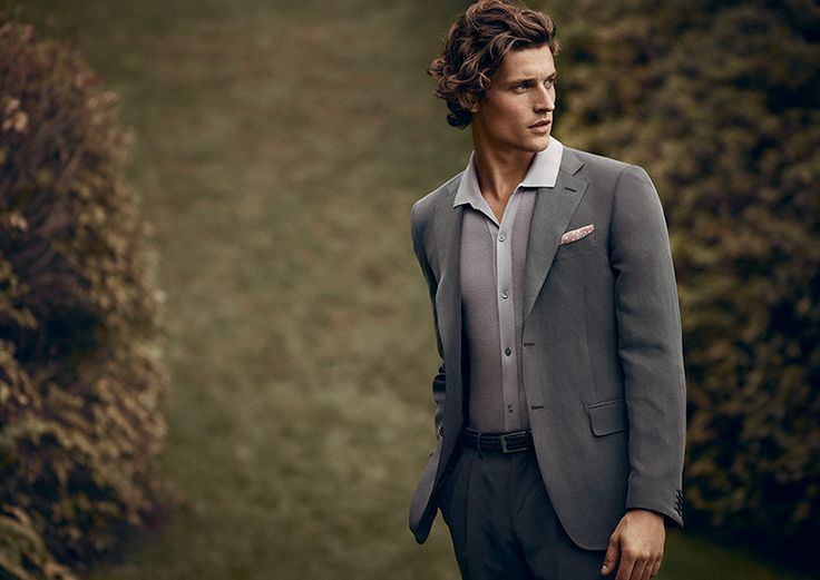 An almost impalpable blend of linen-silk,  creates an unusual velvety effect #advcampaign #ss14 #canali1934
