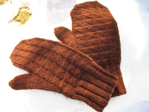mittens for the fishermen