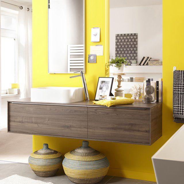 10 rangements pour pimper sa salle de bains meuble sous vasqu - Meuble salle de bain neo ...