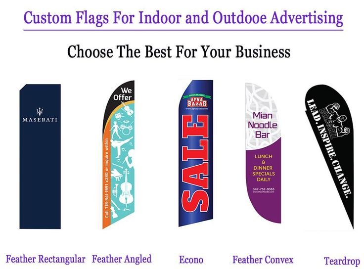Flag is suitable for indoor and outdoor events. Effectively advertise your logo or message with our flags. Choose the best suitable #Flag for your business #ChicagoBannerStands #FlagPrinting http://ow.ly/XMoOu