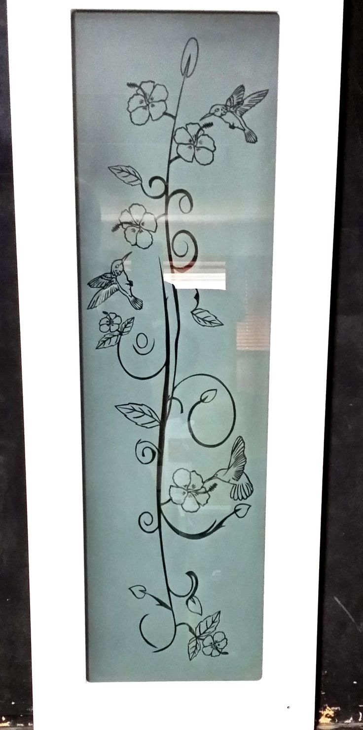 14 best Home Decor Sand Etched Glass images on Pinterest | Etched ...