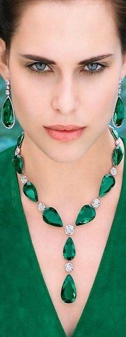 Emeralds and Diamonds Graff | LBV AW14 ♥✤: