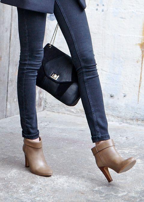 Sézane / Morgane Sézalory - Arizona boots #sezane #arizona