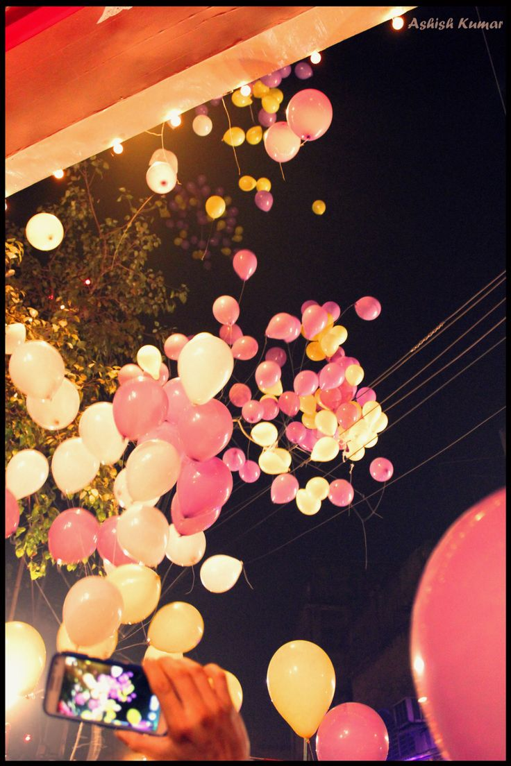 Balloons In The Sky...