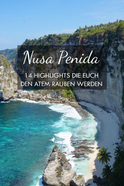 Nusa Penida – Die schönsten Strände, Sehenswürdigkeiten & Tipps