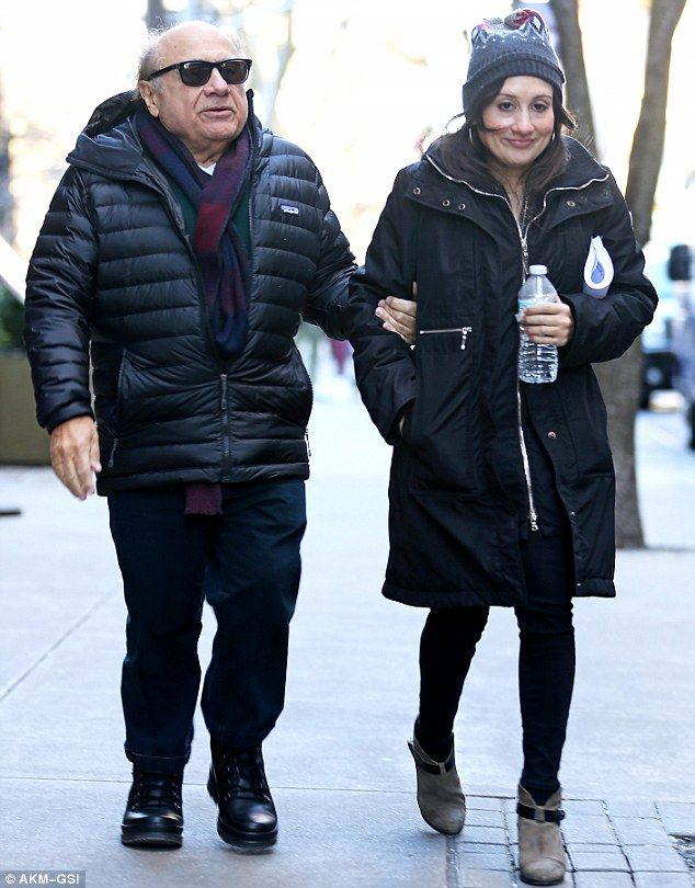 Term Of Endearment: Danny DeVito was spotted walking arm-in-arm with daughter Lucy in New York on Thursday