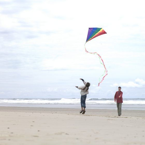 Attractions at Rockaway Beach     Kite flying is one of the most popular summer activities on Rockaway's beaches.
