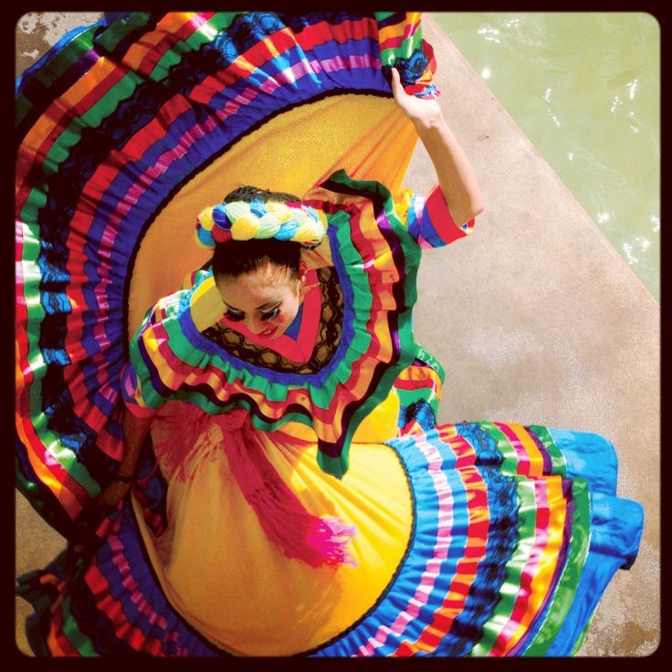 Festival - San Antonio Tx- This reminds me of when my girls danced folklorico!
