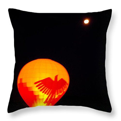"""Fly Me To The Moon Throw Pillow 20"""" x 20"""""""