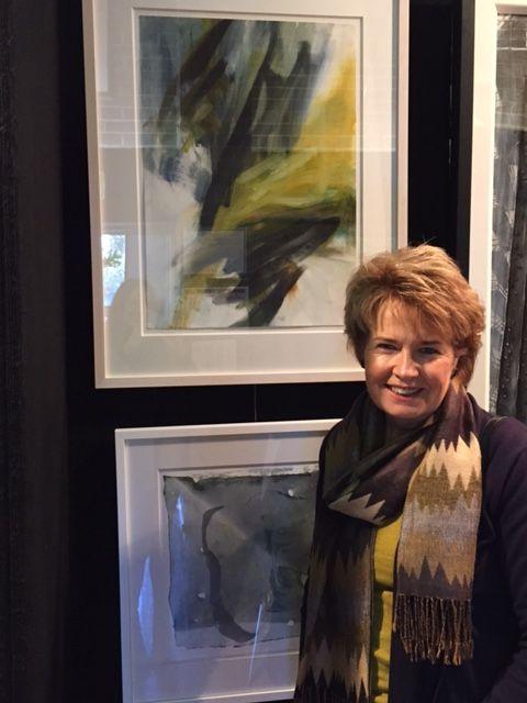 Into the Light by Gail Barfod Oil on paper 81x63cm framed Hunters Hill Art Competition 2015 https://www.facebook.com/gailbarfodartist