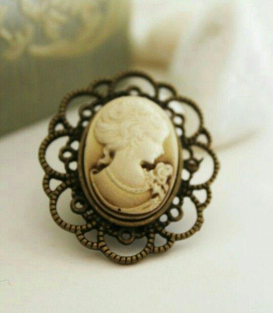 antique cameo...