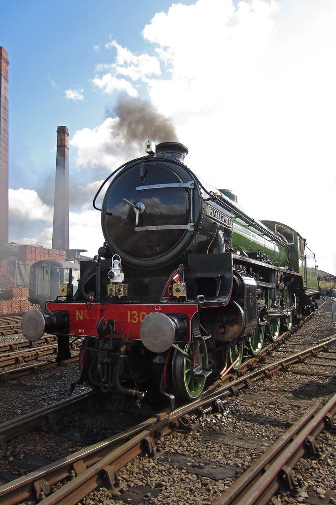 Mayflower at Barrow Hill /by Treflyn #flickr #steam #engine