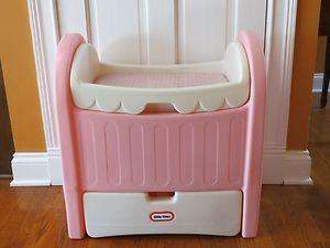Little Tikes Crib Vintage Little Tikes Pink Doll Size