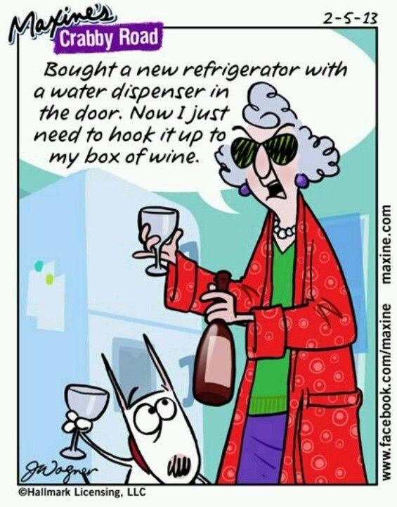 maxine cartoons fridge humor crabby jokes laugh refrigerator quote
