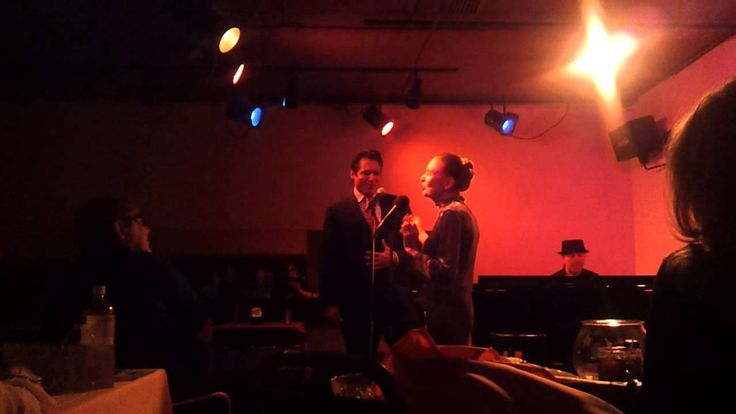 Julie Wilson and her son Holt McCallany duet - YouTube
