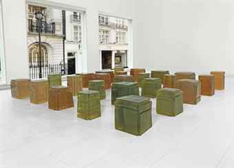 Untitled (Twenty-five spaces)