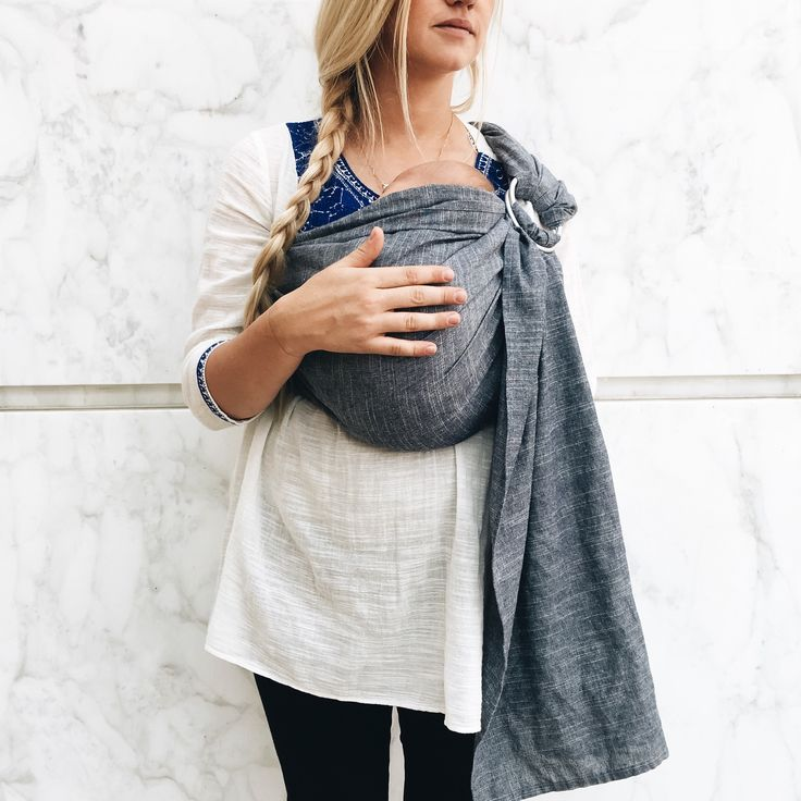 ring sling baby carrier instructions