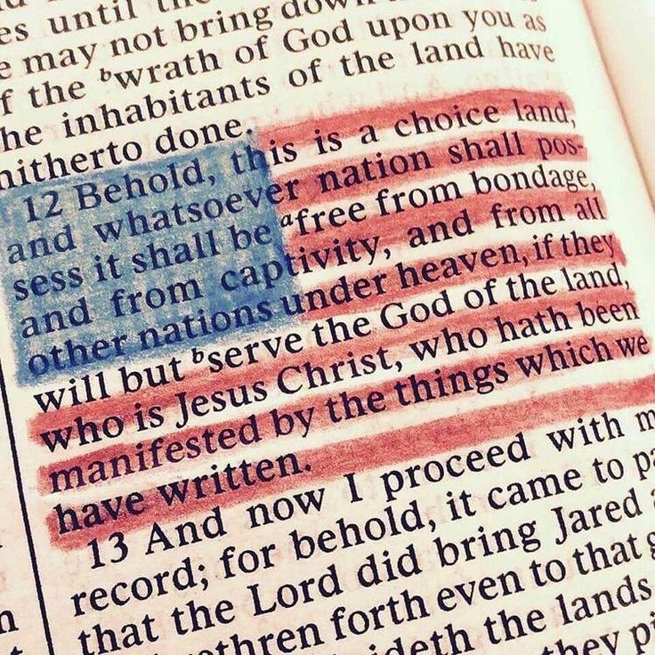 God bless America...Land that I love! ❤️ Ether 2:12 #bookofmormon