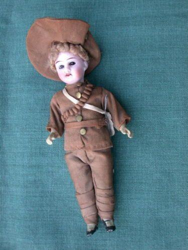 Todo-Original-Gebruder-Kuhnlenz-nino-en-traje-de-soldado-maravilloso-periodo