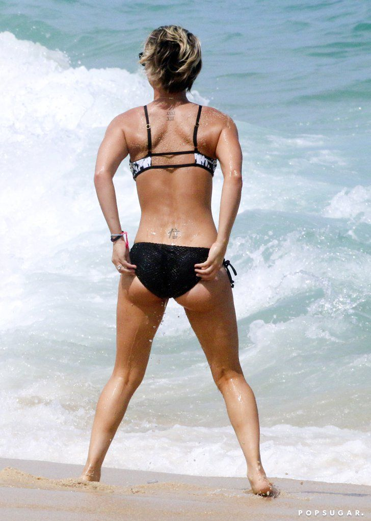 Pin for Later: Kaley Cuoco Flaunts Her Bikini Body South of the Border